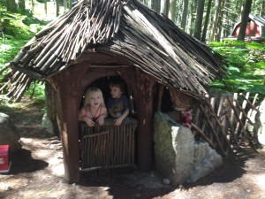 The Three Little Pigs House of Sticks