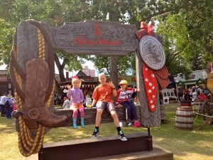 calgary stampede with kids