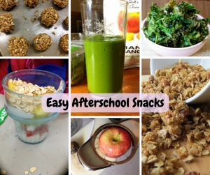 easy afterschool snacks